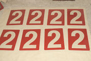 98 Pcs - 12 Nos Acrylic Gas Station Price Numbers And Grade Signs Marquee New