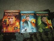The Original Macgyver Tv Season 1excellent 2 And 3new Dvd Setsfree Shipping