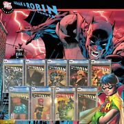Batman And Robin 123456910 Cgc Rare And Recalled Dc Comic Variant Lot