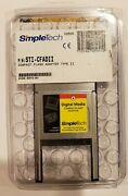 Simpletech Sti-cfad Flashlink Pc Card Adapter For Type 2 Compactflash Cards