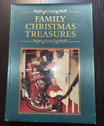 Family Christmas Treasures Quilted Hardcover Book Coffee Table Size 14andrdquox10andrdquo