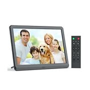 Digital Picture Frames 10 Inch Wall Mount Digital Photo Frame With 1920x1080 ...
