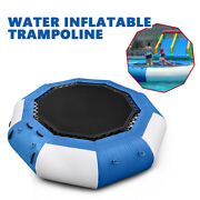 17ft Large Outdoor Water Toys Inflatable Water Trampoline Childrenand039s Water Park