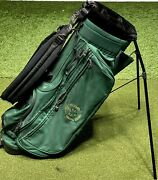 Ping Hoofer Stand Carry Golf Bag Cypress Point Logo 5-way Divider Green 2256
