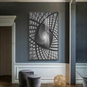 Abstract Canvas Printings Cotton Earchitectural Extension Space Wall Art Picture