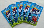 Kool Aid Vintage Great Bluedini Changes Color Lot Of 5 Packets Nos Pitcher Smile