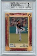 Andnbsprare 2013 Bbm Young Fighters Shohei Ohtani P1 Photograph Card/100 -bgs 9 Mint