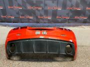 2012 Camaro Ss Oem Convertible Oem Rear Bumper Cover Loaded W/ Valance Lights