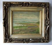 Samuel Wilson Frazer 1866-1954 Antique Oil Painting Signed Listed Twachtman Stud