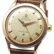 Auth Omega Watch Automatic Constellation 2652-2 Cal.354 Pg Ss Vintage 1953 F/s