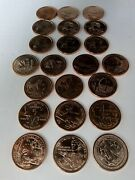 2000 2021 P And D Complete 44 Coins Uncirculated Sacagawea Native American Set