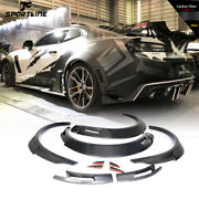For Chevrolet Camaro 16up Real Carbon Fender Flares Extra Wide Body Wheel Arches