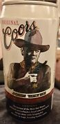 """Coors Banquet Beer John Wayne"""" Vintage - 5 Cans. See Pictures All Cans Vg"""