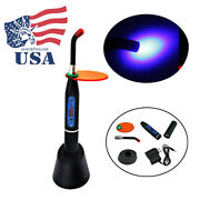 Dental Wireless Cordless Led Curing Light Lamp 1500mw Tool Resin Cure Machine 5w
