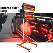 2000w Shortwave Infrared Heat Lamp For Car Body Repair Paint Curing Systems 220v