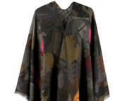 Andpound2999 100 Cashmere Cape Jacket Rare Stunning Sold Out