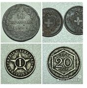 Old World Coins Collections Lots. You Grade. Invest. France 1867 Italy Swiss.