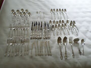 Wow Gorham Sterling Silver English Gadroon Service For 8 Flatware 69 Pieces