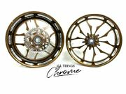 300 Fat Tire Root Beer Contrast Recluse Wheels 2004-2008 Yamaha Yzf R6