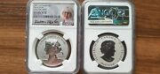 2021 1oz Canada Silver Peace Dollar Ultra High Relief Ngc Pf70 Stunning