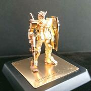 Rx-78-2 Gundam 24k Gold Plated Silver 925 Very Rare From Japan