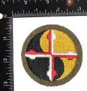 Wwii Us Army Maryland National Guard Patch