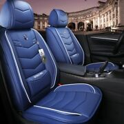 Car Seat Covers Suv Durable Leather Water Proof Front Back Cushion Mat Equipment