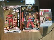 Wwe Kevin Nash Lot Signed Elite Funko Pop Chase Classic Deluxe Wwf Aew Nwo Wcw