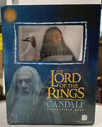Gandalf Collectible Bust Gentle Giant Lord Of The Rings Light Up Staff Nib 2007