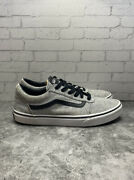 Off The Wall Old Skool Kidand039s Unisex Gray/black Skate Shoes 500714 Size 7y