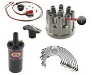 Macs Auto Parts Pertronix Ignitor Ii Ignition Kit With Black Coil V8