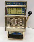 Waco Casino 7 Toy Slot Machine Vintage Collectible -made In Japan