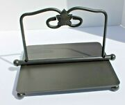 Longaberger Wrought Iron Napkin Holder From Iron Foundry Collection