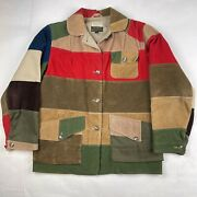 Vintage Abercrombie And Fitch Hst Safari Jacket Size 14