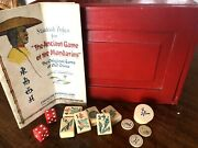 Vintage French Ivory Celluloid Mah Jongg Set By Piroxloid 152 Tiles Mahjong
