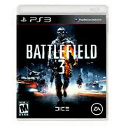 Battlefield 3 Playstation 3 Mint Condition No Inserts Re-wrapped Free Ship