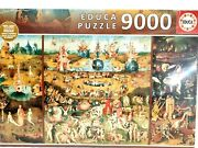 Educa Jigsaw Puzzle 9000 Piece The Garden Of Earthly Delights 14831 214 X 118 Cm