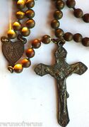 ⭐ Wwi Military Pull Chain Rosary ✞ Chaplinand039s Trench Rosaries ☧ Rare Prototype