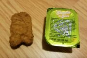 Among Us Nugget W/rare Discontinued Sauce - Genuine Mcdonalds Saweetie Meal