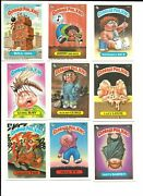 9 Different 1986 Garbage Pale Kids Cards 4