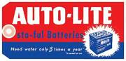 Macs Auto Parts 1964-1968 Mustang Autolite Sta-ful Battery Tag 44-47561-1