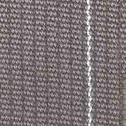Macs Auto Parts Upholstery Fabric - Grey With White Stripe Wool Cord - 60 Wide
