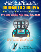 Mst-3000pro Heavy-duty Efi Motorcycle Fault Detection And Diagnosis Tool