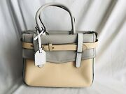 Reed Krakoff Colorblock Square Leather Bag