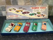 Dinky Toys Gift Set 149 Sports Cars Boxed Rare