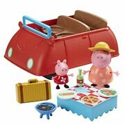Character Options-peppa Pig - Peppa Pigs Deluxe Car 905-069 Uk Import Toy New