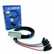 Gamecube Component Adapter Lead For The Nintendo Gamecube Running Gcvideo Lite