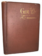 1895, 1st, Gout And Its Cure, By J Compton Burnett, Antique Medical Book