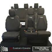 Ford Custom Transit Trail 2020 Tout Seat Housses And Logo Broderie 431 432b
