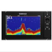 Simrad Nss9 Evo3s Fish Finder/ Chart Plotter With C-map Us Enhanced Charts